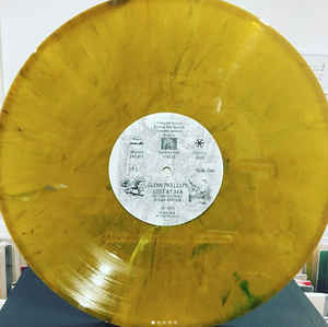 GLENN PHILLIPS 'LOST AT SEA' - Clear Yellow Vinyl